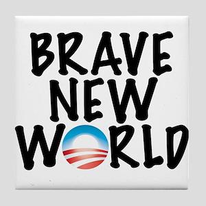Brave New World Tile Coaster