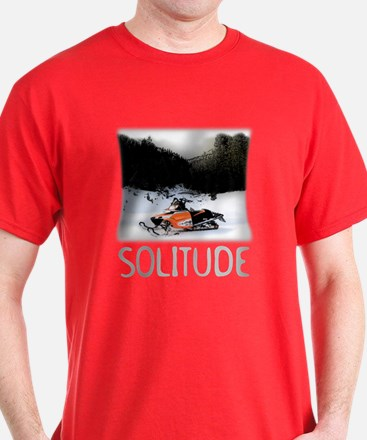 Sledding Solitude T-Shirt