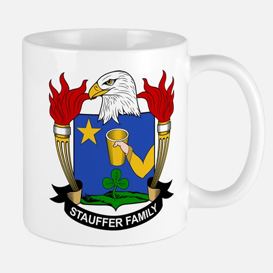 Stauffer Family Crest Mug