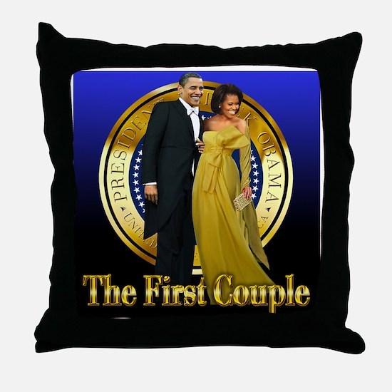 Inaugural Ball Throw Pillow
