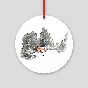 Breakin' Through Ornament (Round)