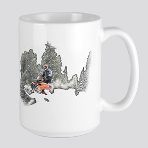 Breakin' Through Large Mug