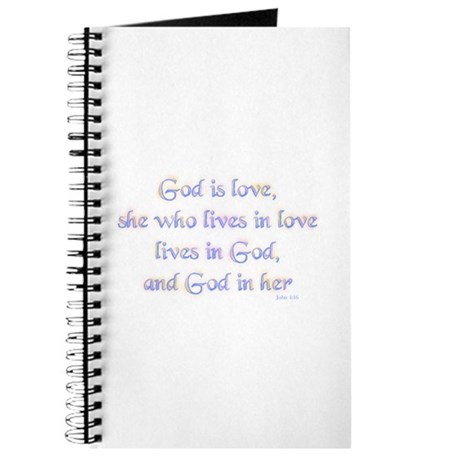 She who lives in love Journal