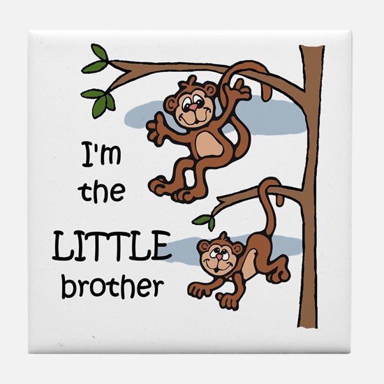 Little Brother Tile Coaster