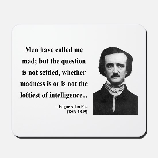 Edgar Allan Poe 18 Mousepad