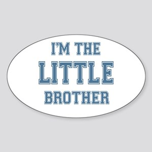 Little Brother Oval Sticker