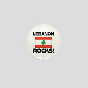 Lebanon Rocks! Mini Button