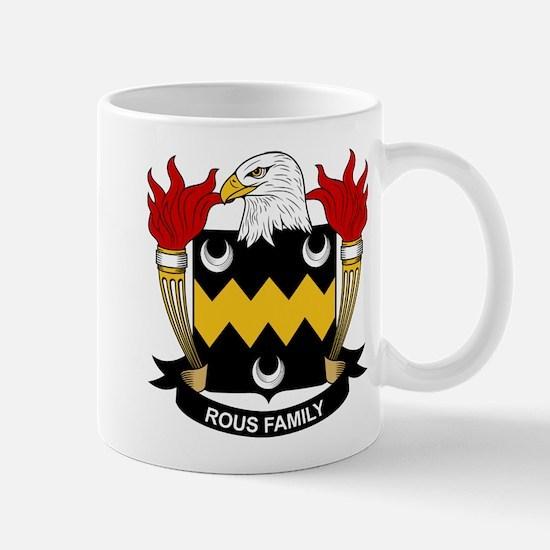 Rous Family Crest Mug