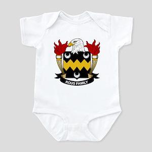 Rous Family Crest Infant Bodysuit