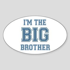 Big Brother Oval Sticker