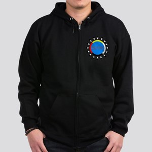 Abenaki Zip Hoodie (dark)