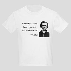 Edgar Allan Poe 19 Kids Light T-Shirt
