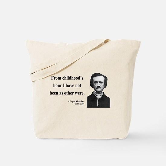 Edgar Allan Poe 19 Tote Bag