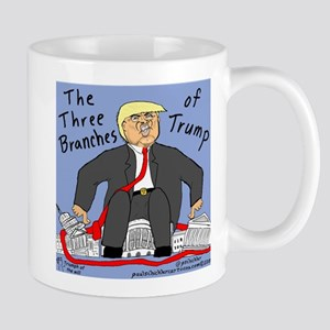 THREE BRANCHES OF TRUMP Mugs