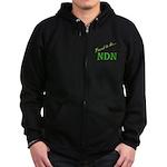 Proud to be NDN Zip Hoodie (dark)