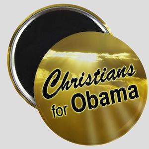 Christians for Obama Magnet (sunrise)