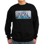 Missouri NDN license plate Sweatshirt (dark)