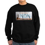 Navajo Nation NDN plate Sweatshirt (dark)