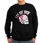 Eat the Rich Punk Skull Sweatshirt (dark)