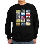 Mixtapes Color Cassette Sweatshirt (dark)