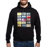 Mixtapes Color Cassette Hoodie (dark)