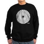 Retro Mod Spiral Sweatshirt (dark)