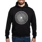 Retro Mod Spiral Hoodie (dark)