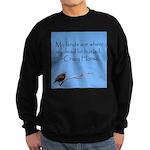 Crazy Horse Quote Sweatshirt (dark)