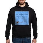 Crazy Horse Quote Hoodie (dark)