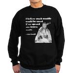 Open Hearts Sweatshirt (dark)