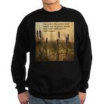 Chief Joseph Earth Quote Sweatshirt (dark)