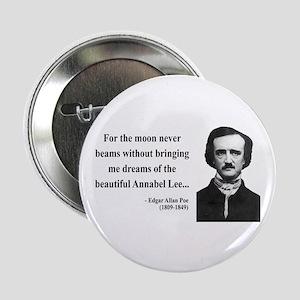 """Edgar Allan Poe 22 2.25"""" Button"""