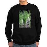 Horsetail Equisetum Sweatshirt (dark)