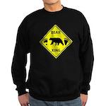 Bear and Tracks XING Sweatshirt (dark)