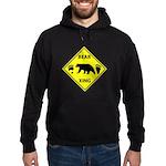Bear and Tracks XING Hoodie (dark)