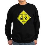 Cougar Mountain Lion Crossing Sweatshirt (dark)