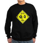 Dog Crossing Sweatshirt (dark)