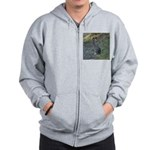 Black Tailed Jackrabbit Zip Hoodie