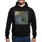 Black Tailed Jackrabbit Hoodie (dark)