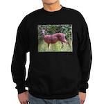 Doe in Grass Sweatshirt (dark)