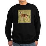 Forked Horn Buck Sweatshirt (dark)