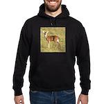 Forked Horn Buck Hoodie (dark)