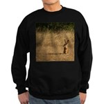 Sitting Jackrabbit Sweatshirt (dark)
