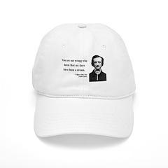 Edgar Allan Poe 23 Baseball Cap