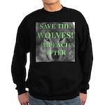 Help Idaho Wolves Sweatshirt (dark)