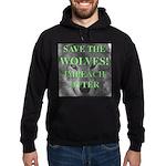 Help Idaho Wolves Hoodie (dark)