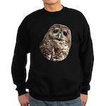 Northern Spotted Owl Sweatshirt (dark)