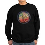 Robins with Berries Sweatshirt (dark)