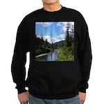 Scenic Eel River Sweatshirt (dark)