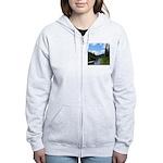 Scenic Eel River Women's Zip Hoodie